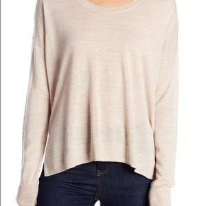 Madewell Wool Blend Southstar Dune Marled Sweater